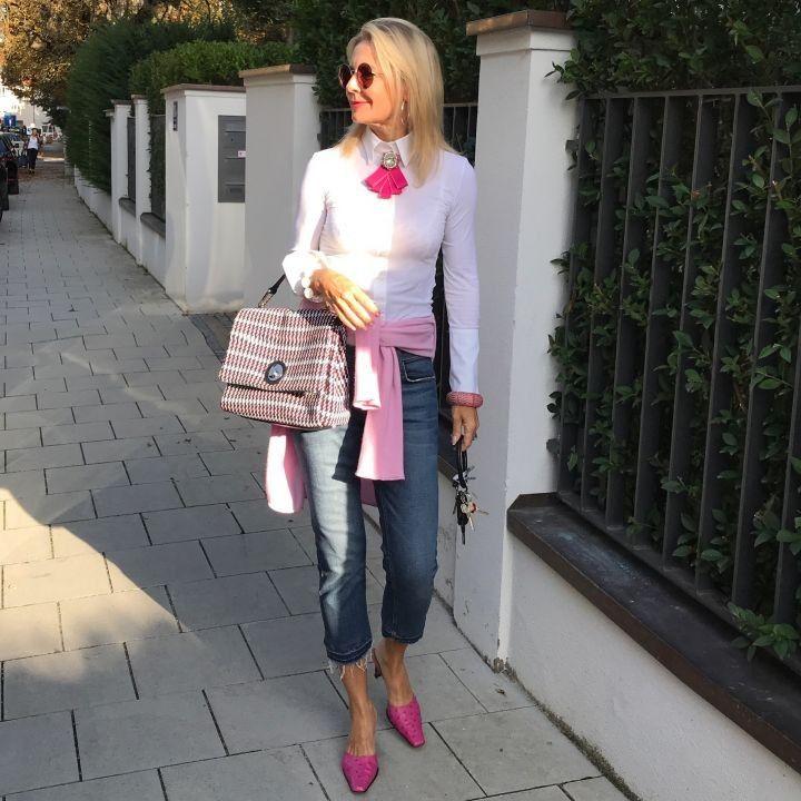 Photo of Verliebt in weiße Blusen   Stilexperte für Styling und Anti-Aging 45+