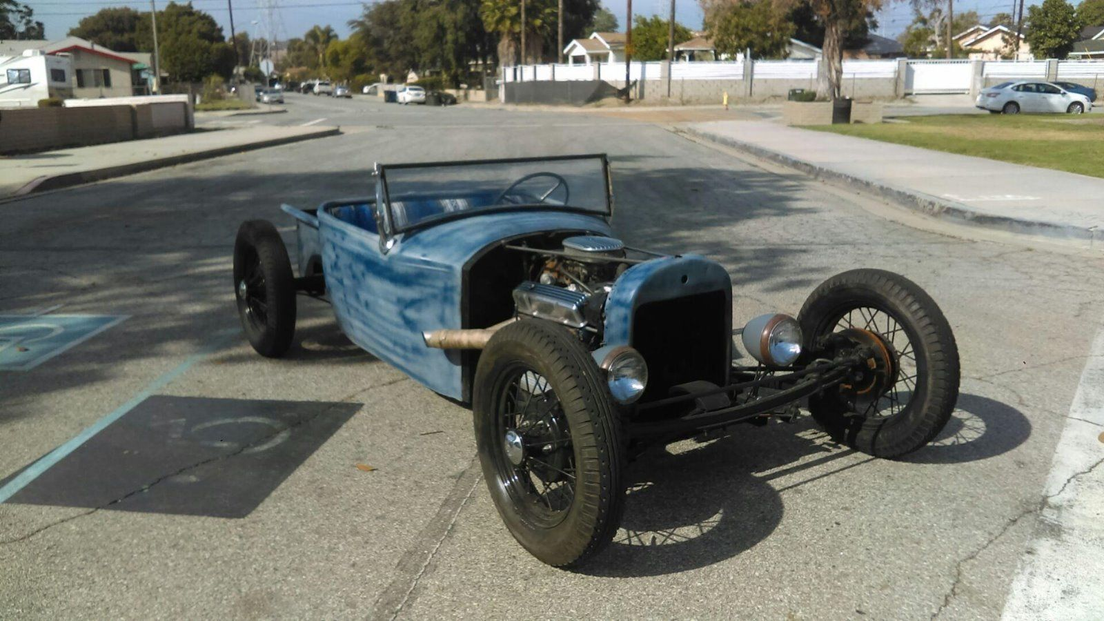 1929 Ford Model T Old School T Bucket Roadster Rat Rod T Bucket