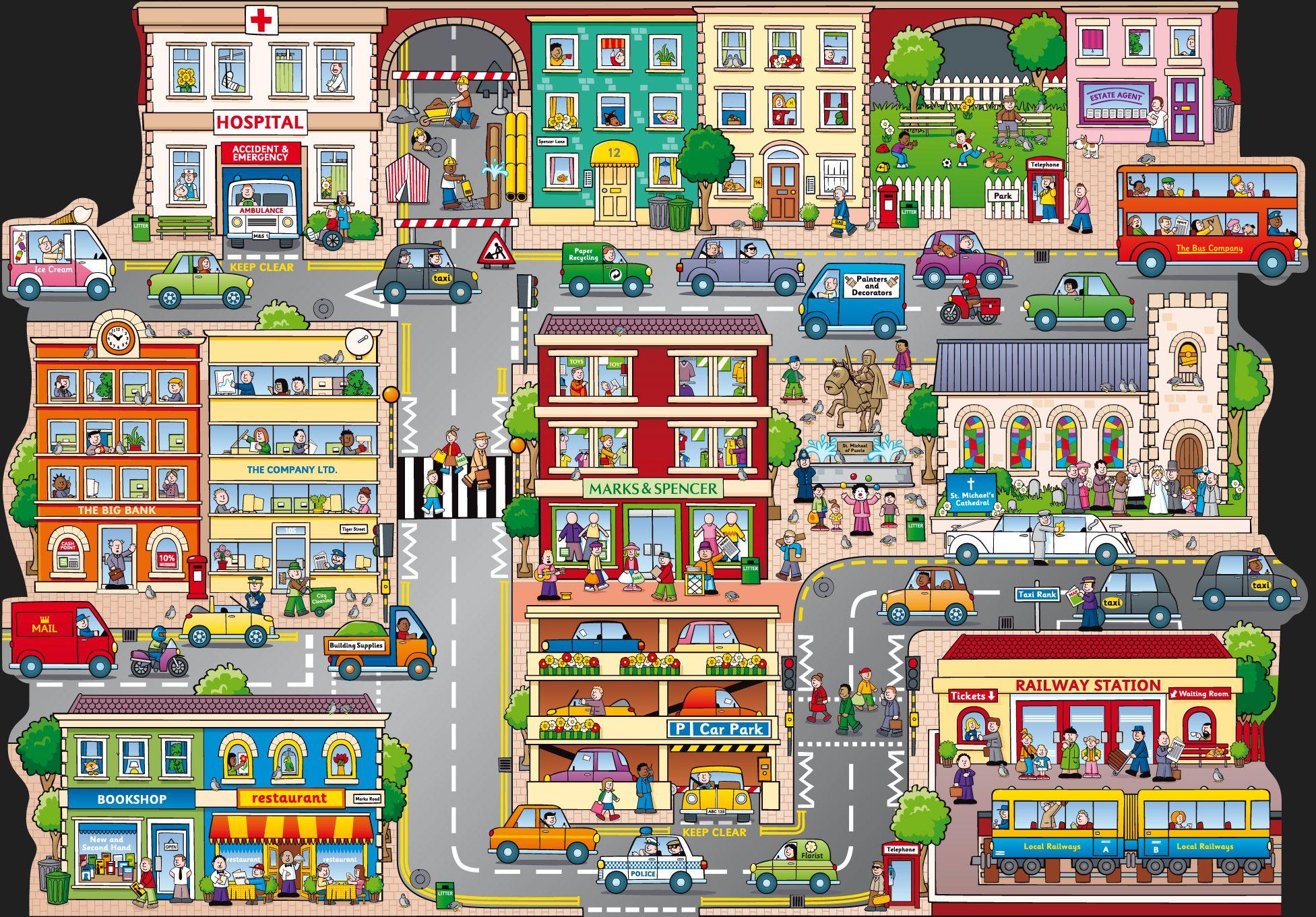 Build A City Puzzle