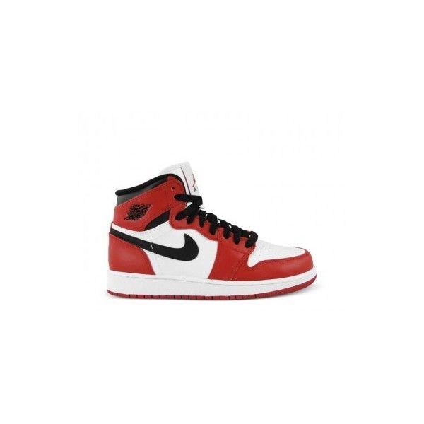 promo code 23c65 72ba0 Nike Air Jordan 1 Retro High OG GS (weiss rot schwarz) (