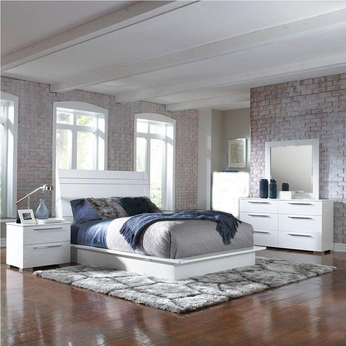 Delta 4 Piece Queen Bedroom Set | Nebraska Furniture Mart | BEDROOM ...
