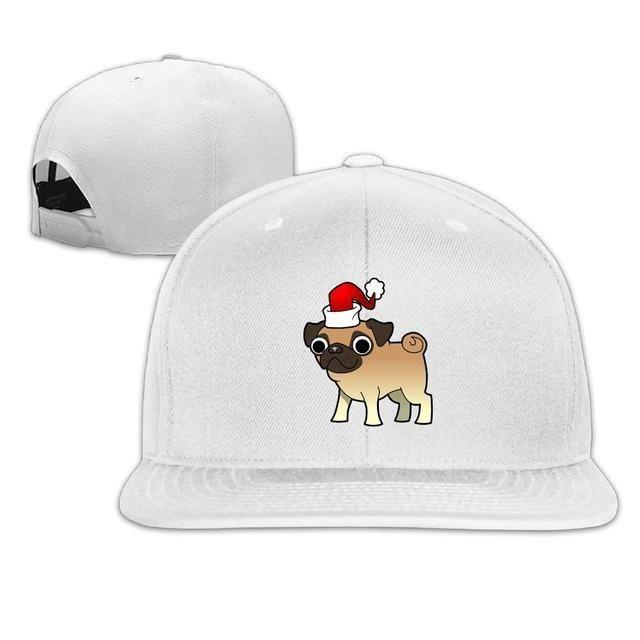 6fb93370aa0 SAMCUSTOM cap baseball cap Side 3D printing I love my pug Casual cap gorras  hip hop
