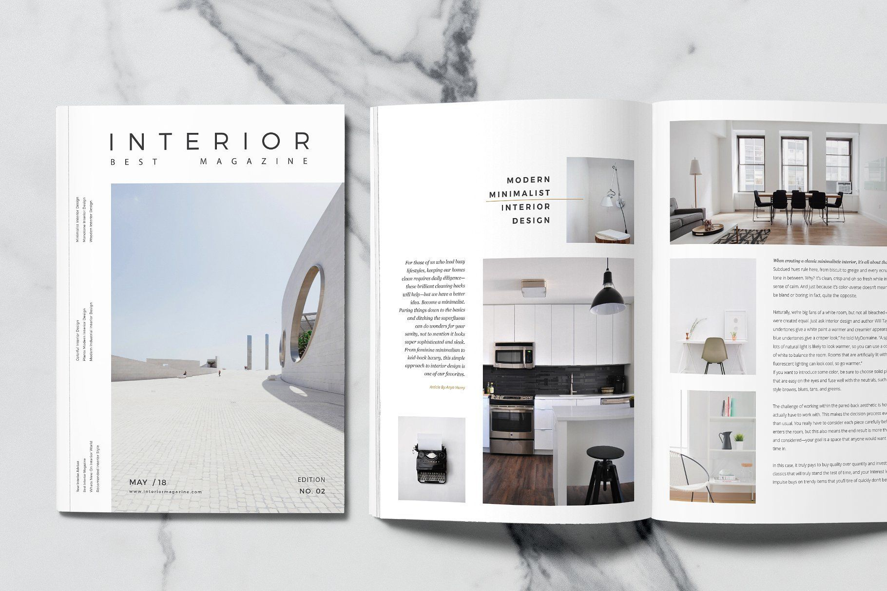 Minimal interior design magazine modern simple and unique layouts with strong typography make your catalog professional it is for designers working on also rh pinterest