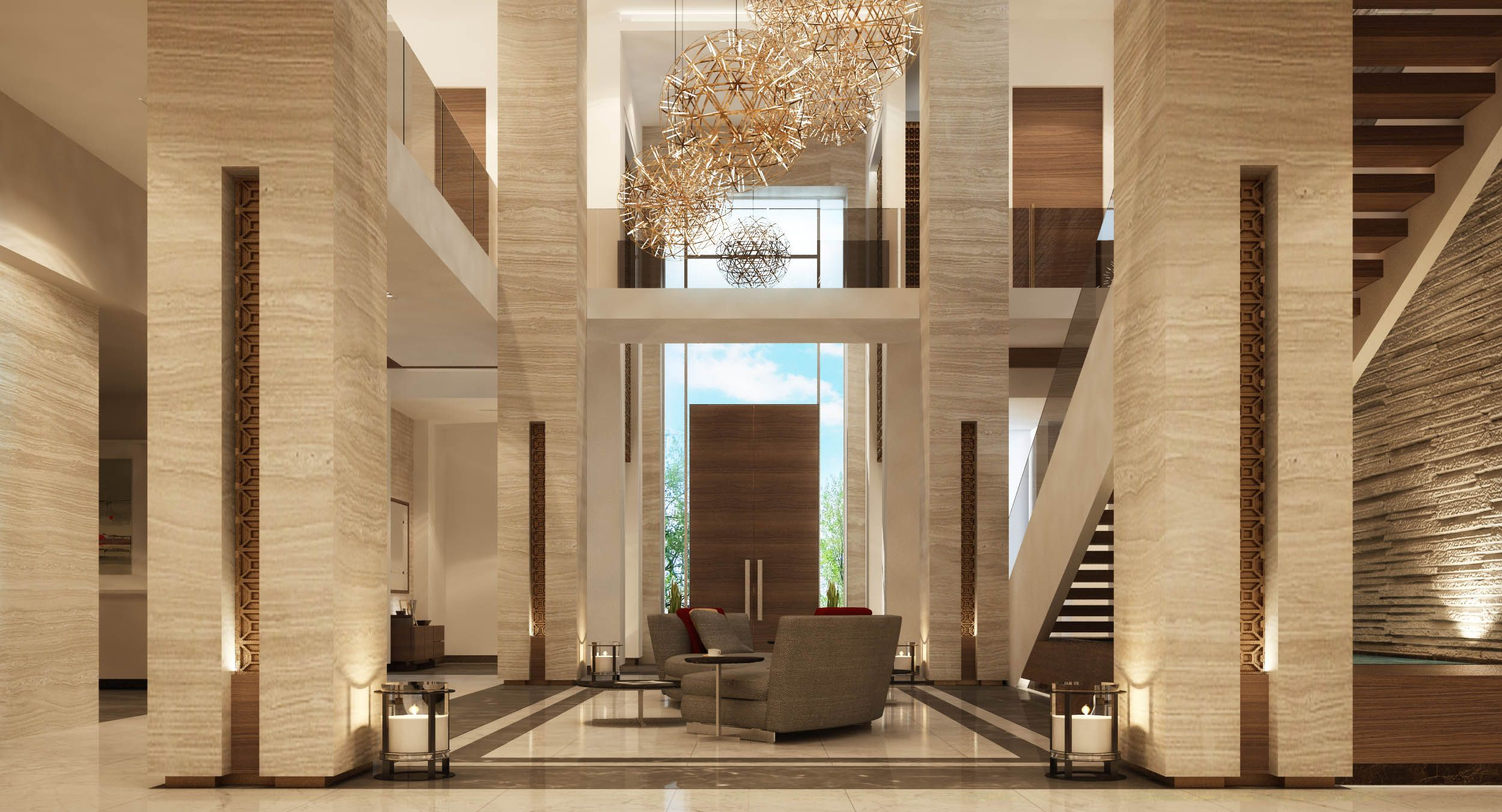 Mimar interiors stunning design and marbles lusorochas - What is contemporary design ...