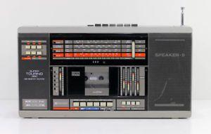 a itt super touring 350 una grabadora radiocasete radio cassette