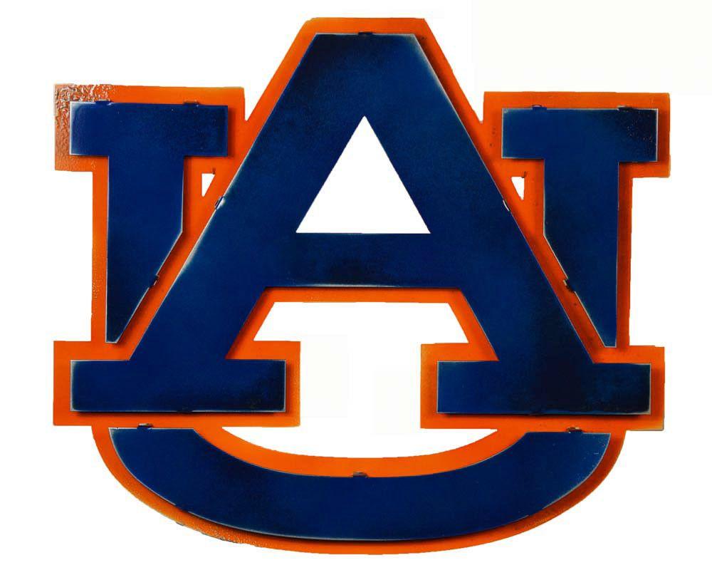 auburn university 3d vintage metal artwork auburn and auburn football rh pinterest com Auburn University Tiger Logo Auburn University Tiger Logo