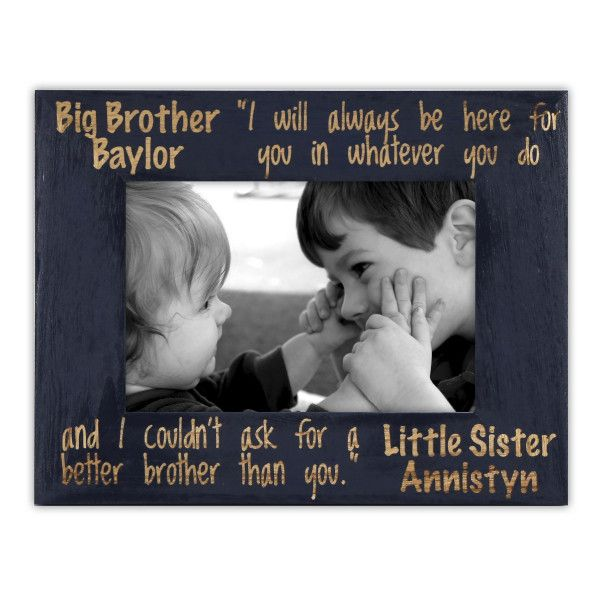 Brother and Sister Frame-Siblings Gift, Personalized – Looking for a ...