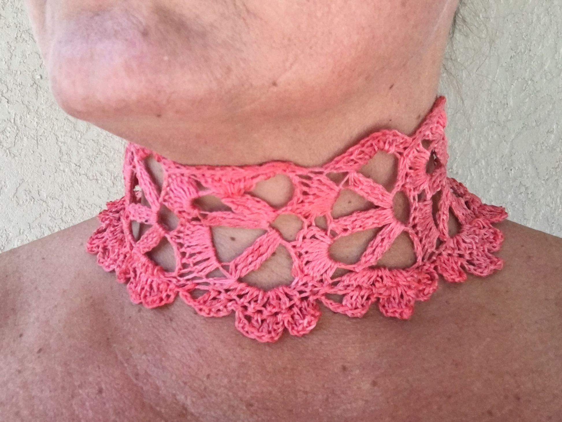 Nov 16 Be So Fine Crochet Lace Choker FREE Pattern