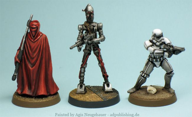 Agis Page of miniature painting and gaming - Star Wars