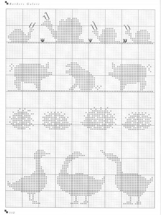 Gallery.ru / Фото #99 - Cross Stitch Silhouettes - Orlanda | corazón ...