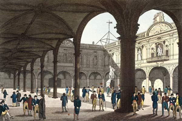 Image result for royal exchange london 18th century