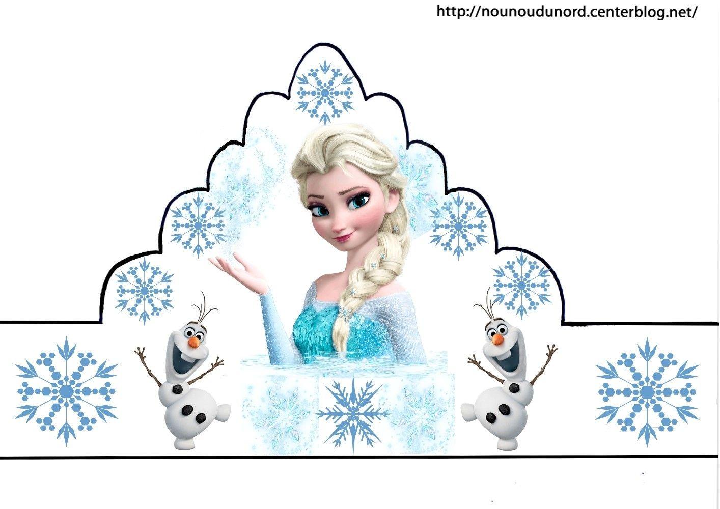 Piphanie voici mes couronnes reine des neiges cars winnie princesses et gommettes d 39 autres - Couronne princesse a decorer ...