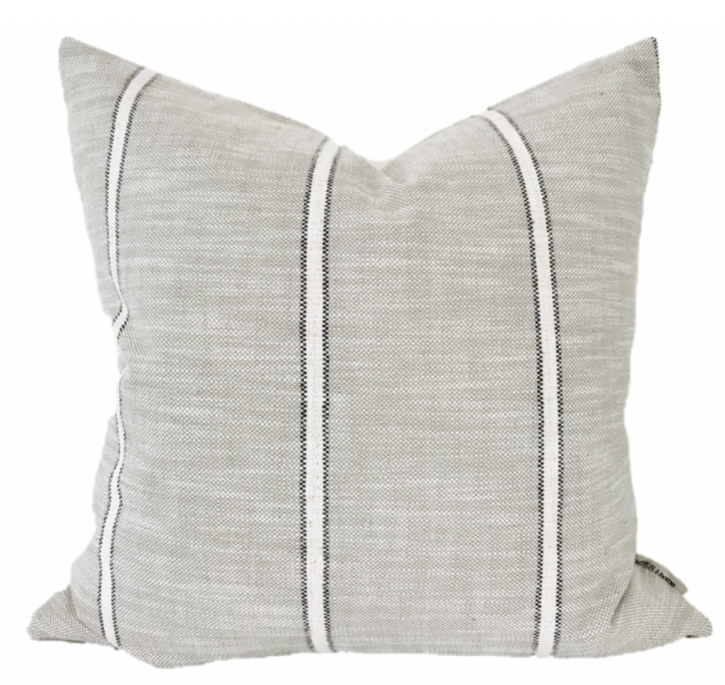 Weathered Stripe Pillow Cover Design Pillow Covers Designer Pillow