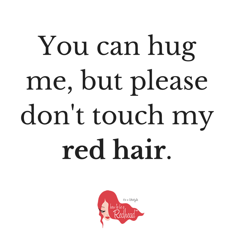 Remarkable, very national hug a redhead day