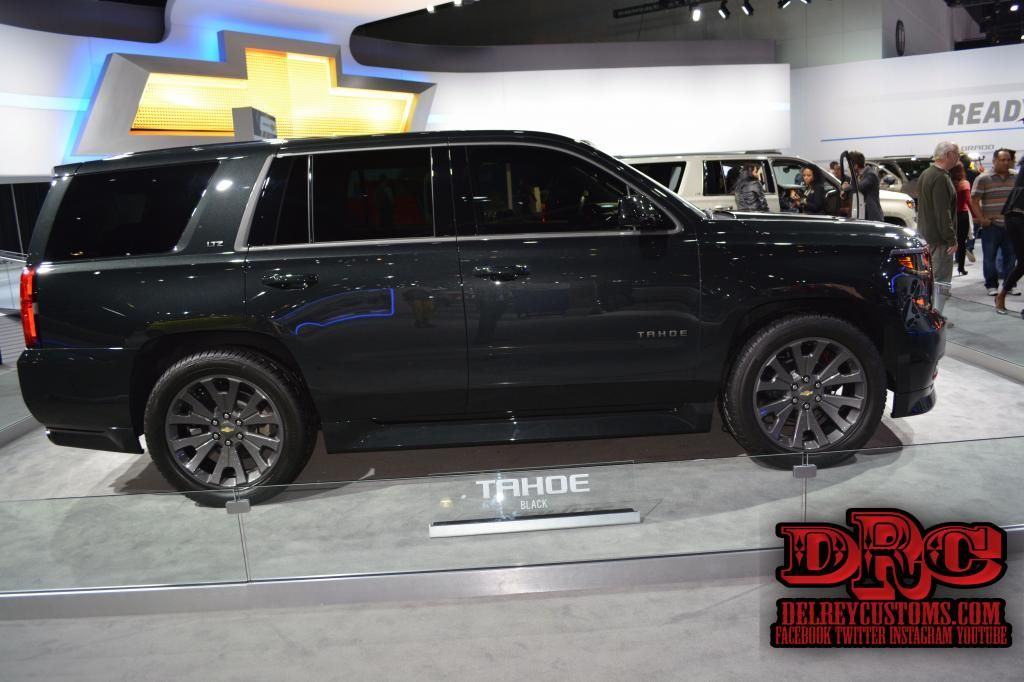2014 chevrolet tahoe black edition from the 2014 la auto show read more at. Black Bedroom Furniture Sets. Home Design Ideas