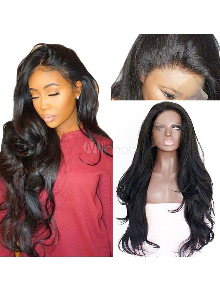 Synthetic Wigs Women S Wigs Black Natural Wave Heat Resistant Fiber Women S Long Wig Sponsored Black A Long Wigs Synthetic Lace Front Wigs Lace Front Wigs
