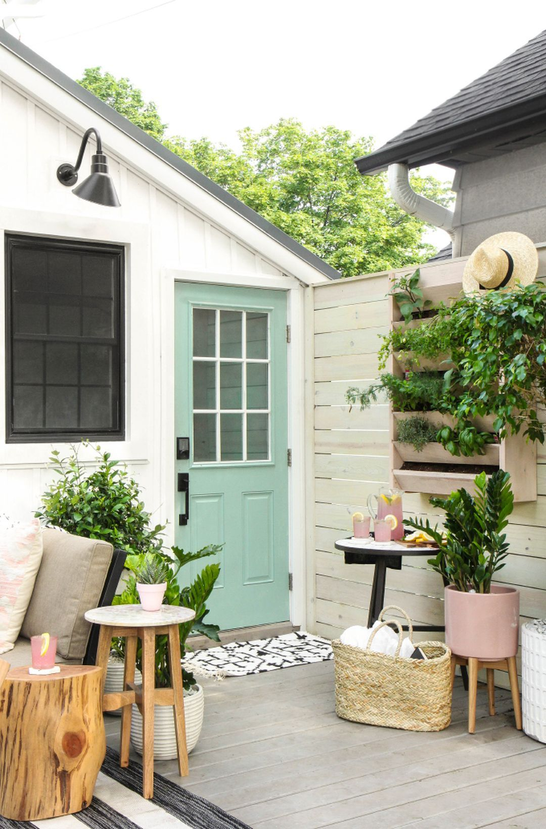 beautiful diy large front porch