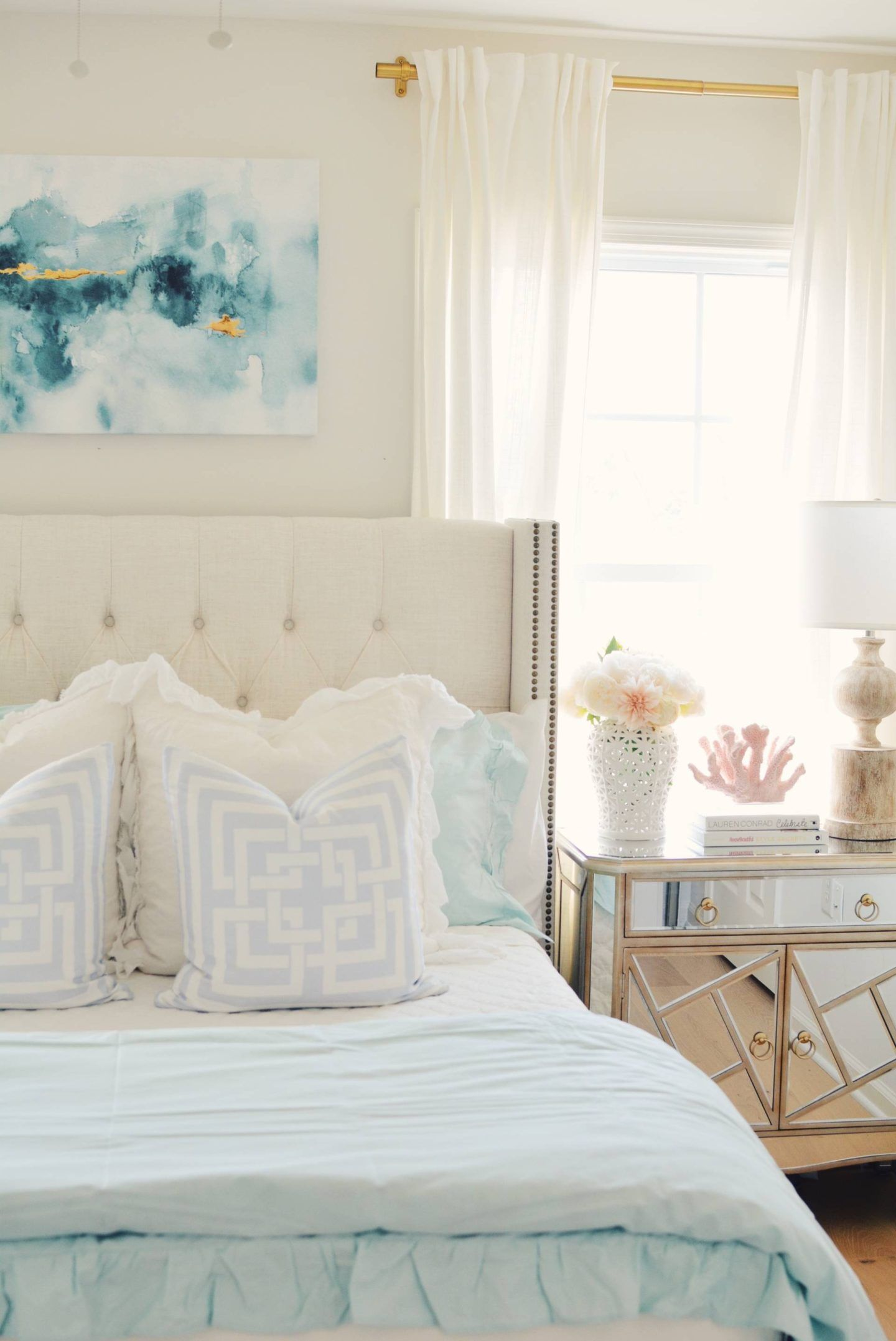 Coastal Inspired Bedroom Ideas With Walmart With Images Beach