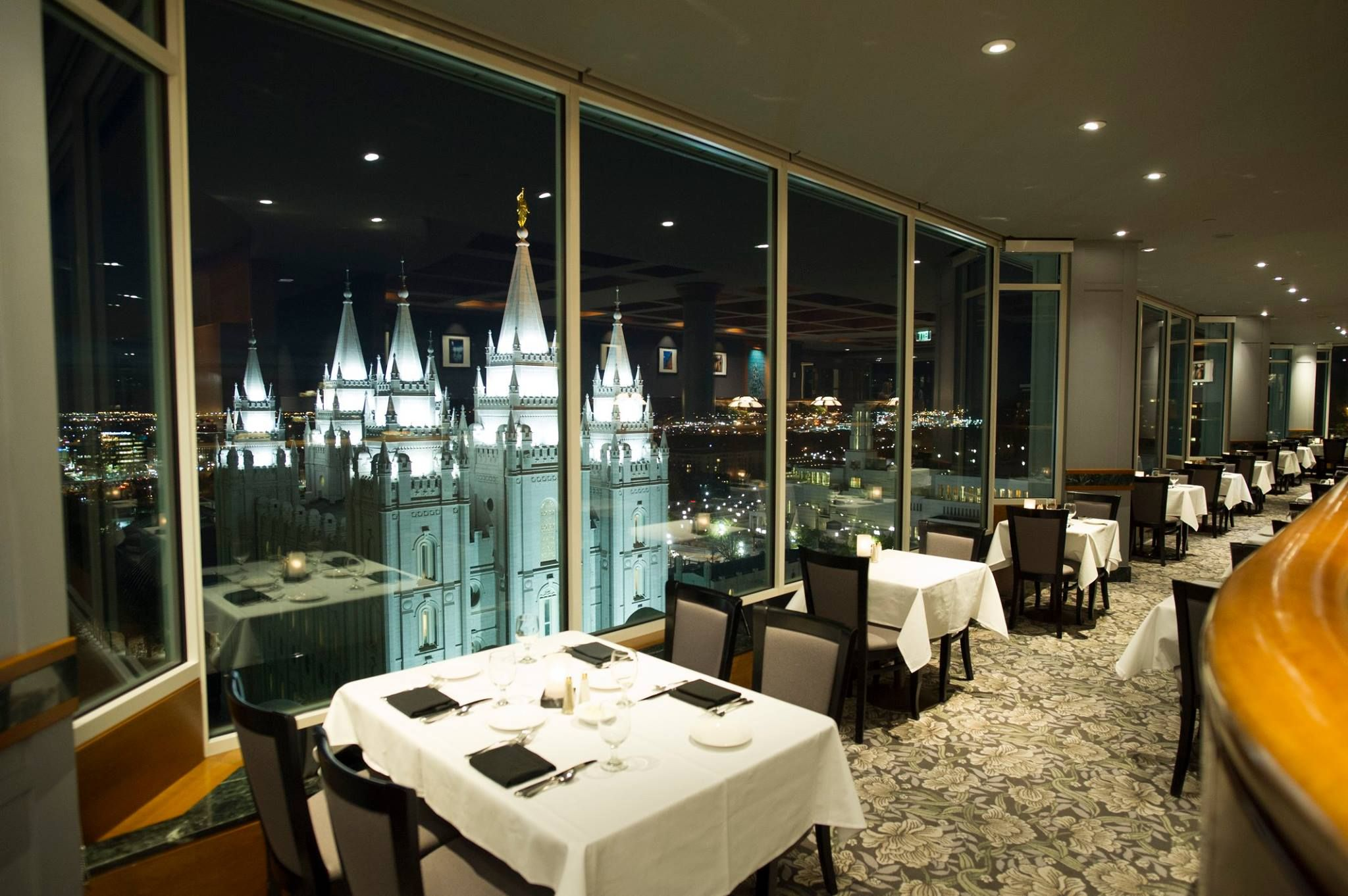 7 Of The Best Valentine S Day Restaurants In Slc Temple Square The Roof Restaurant Salt Lake City Restaurants City Restaurants