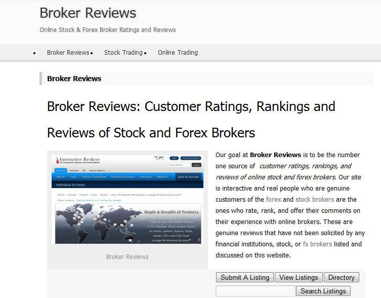 Genuine Online Reviews Of Stock And Forex Brokers Provided By Customers Clients And Users Incredible Creatures Cool Things To Buy Interactive Brokers