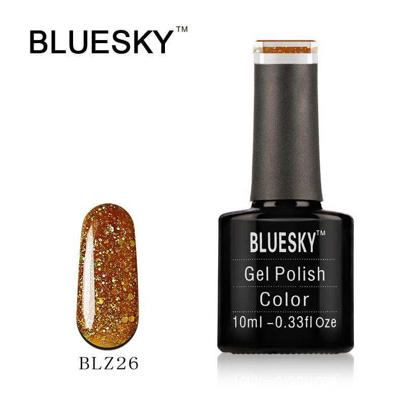 Bluesky UK World Bluesky Gel Polish BLZ26 Gold Rush