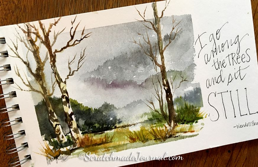Review Of Hahnemuhle Watercolor Papers Watercolor Paper