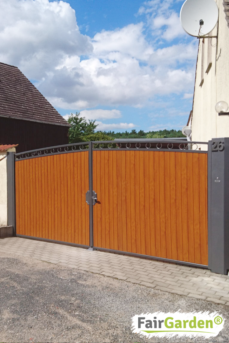Gate filling panels made of high-quality window plastic for garden …