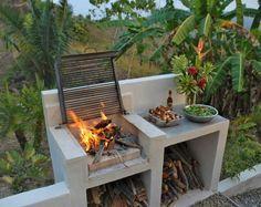 - - #außenküche | Landschaftsbau ideen, Diy hinterhof, Design für aussenküche