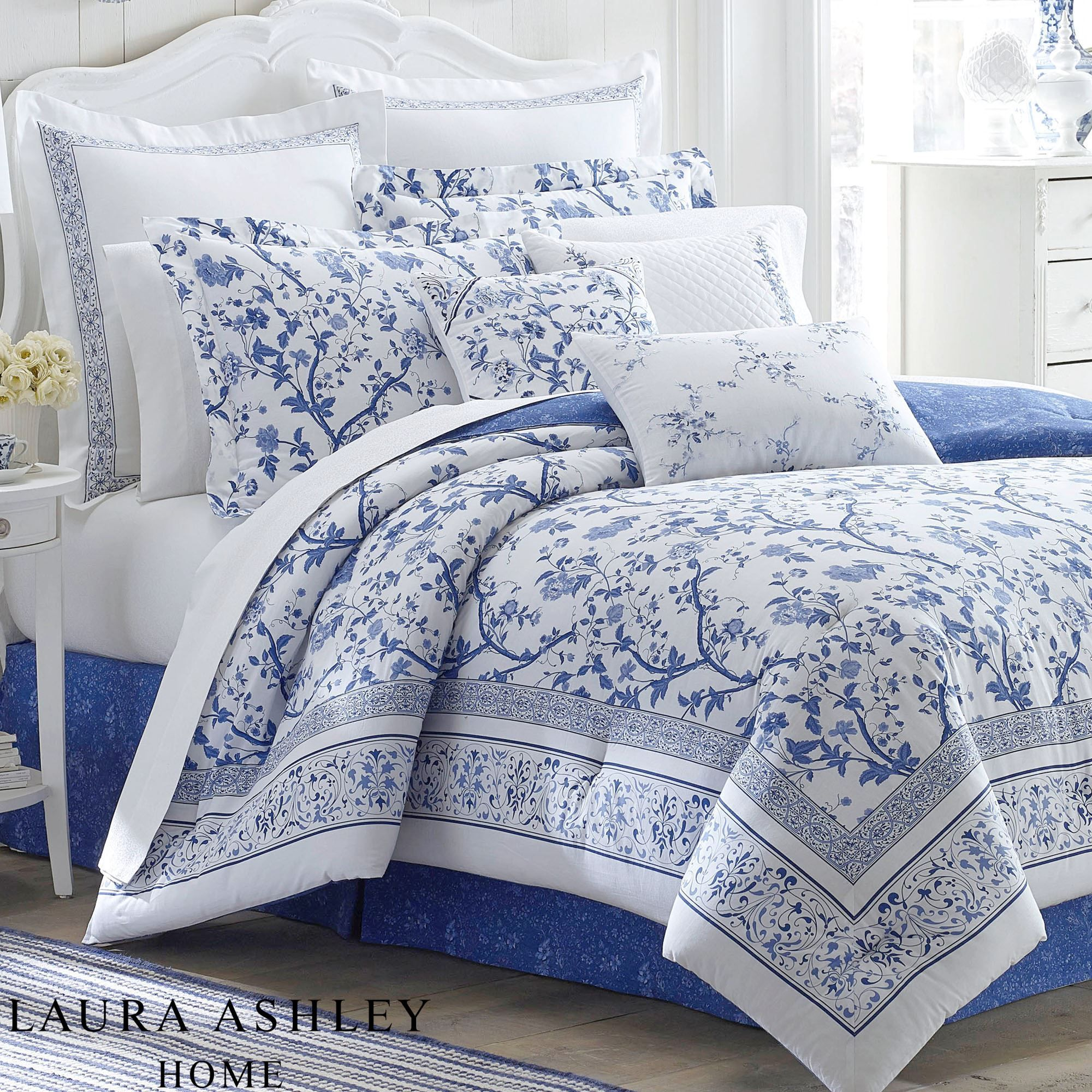 comforters p white from bedding comforter set new york by floral midori j queen