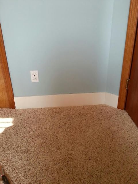 It 39 s fine to do baseboards white and leave doors door trim for Baseboard and door trim