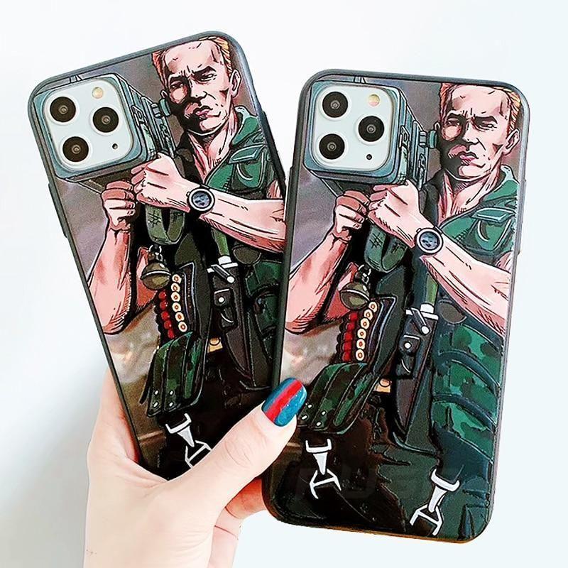 Commando bazooka iphone case for iphone 1111 pro11 pro