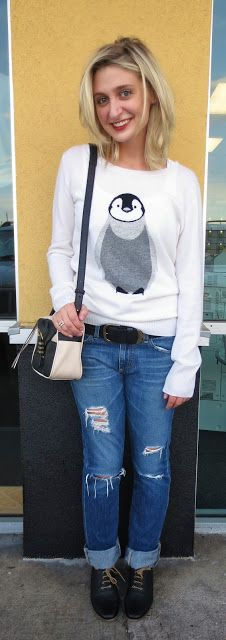 French Cuff Boutique: Daily Fashion Flash: Penguin Pullover