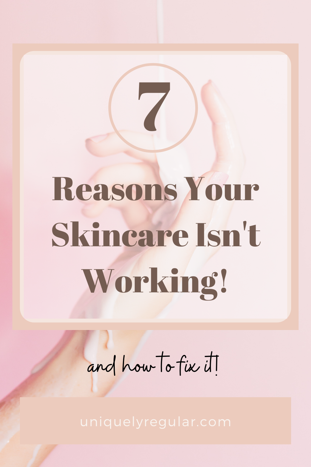 Why Your Skincare Routine Isn T Working In 2020 Skin Care Skin Care Routine Skincare Quotes