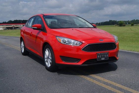 New 2015 Ford Focus #FordFocus #New #redcar #Ford #Focus