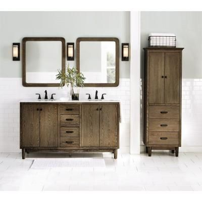 $1,699.00 Home Decorators Collection Brisbane 61 In. W X 22 In. D Double  Vanity