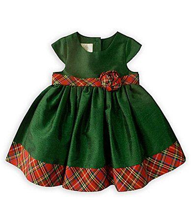 7d3d4b87e Christmas Dress? $29.99 Laura Ashley London Infant Plaid Trim Dress # Dillards
