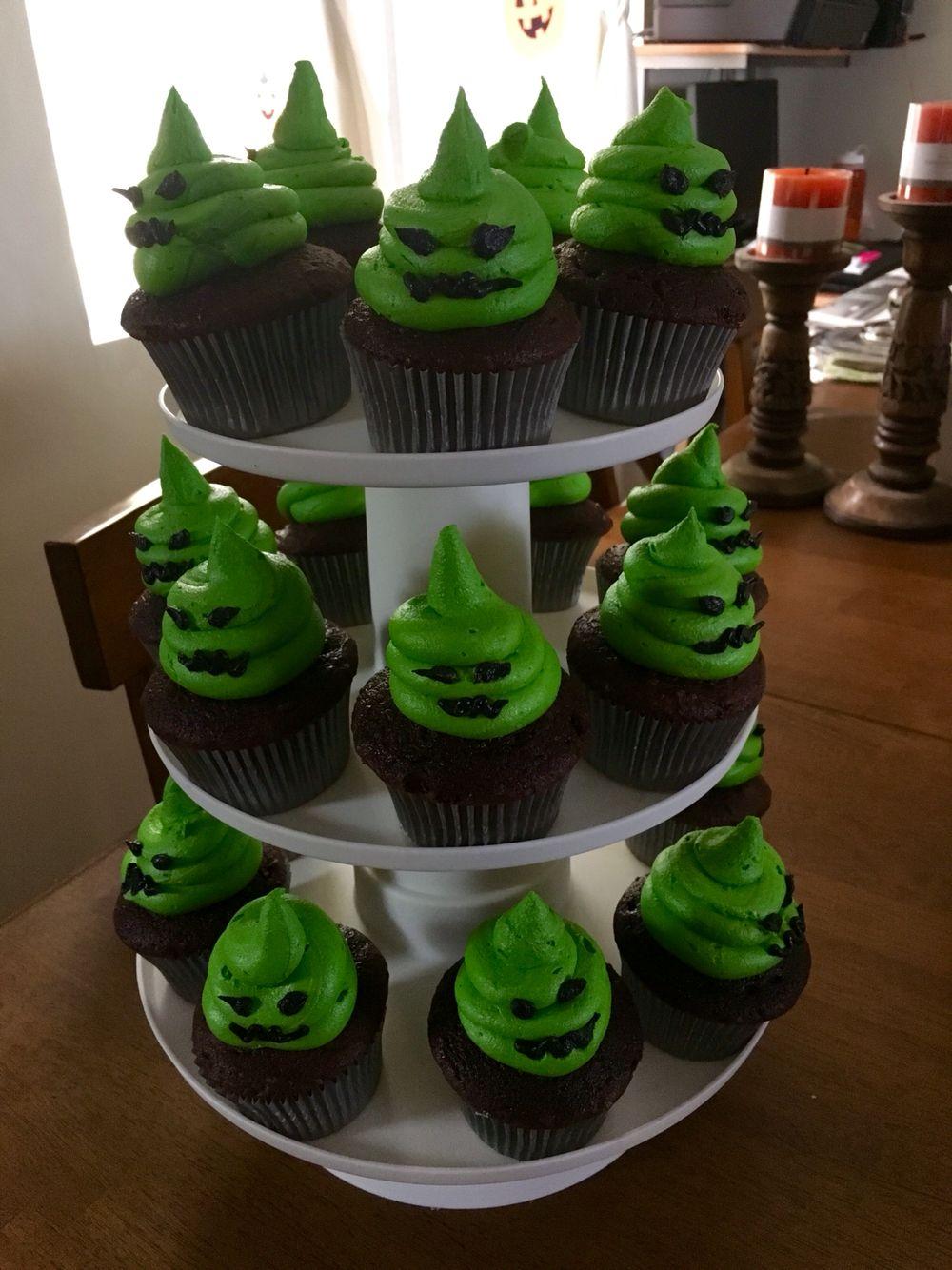 The Nightmare Before Christmas Oogie Boogie Cupcakes Halloween