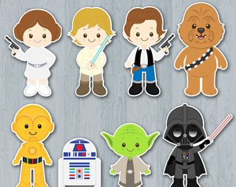 Baby Shower Games · The Force Awakens Centerpiece Star Wars ...
