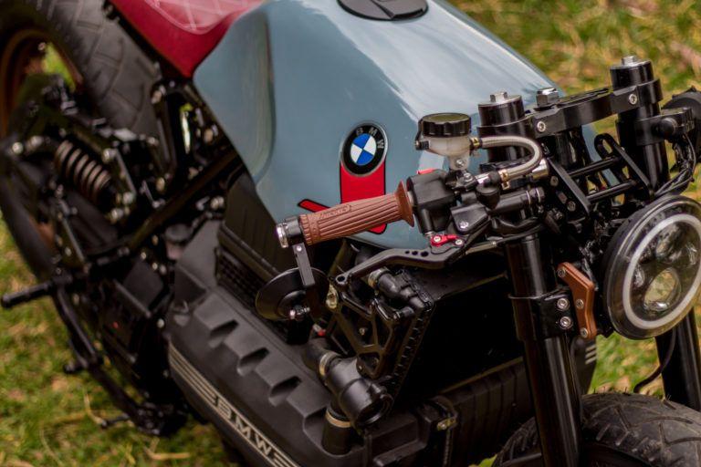 A Brazilian BMW K100 Cafe Racer With A CVT Transmission