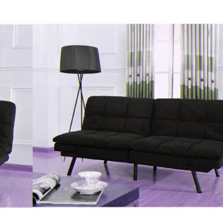 Mainstays Memory Foam Futon Multiple Colors At Com