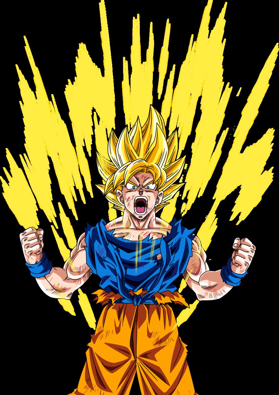 So Much More Powerful When Your Yellow Goku Super Saiyan Dragon Ball Super Goku Super