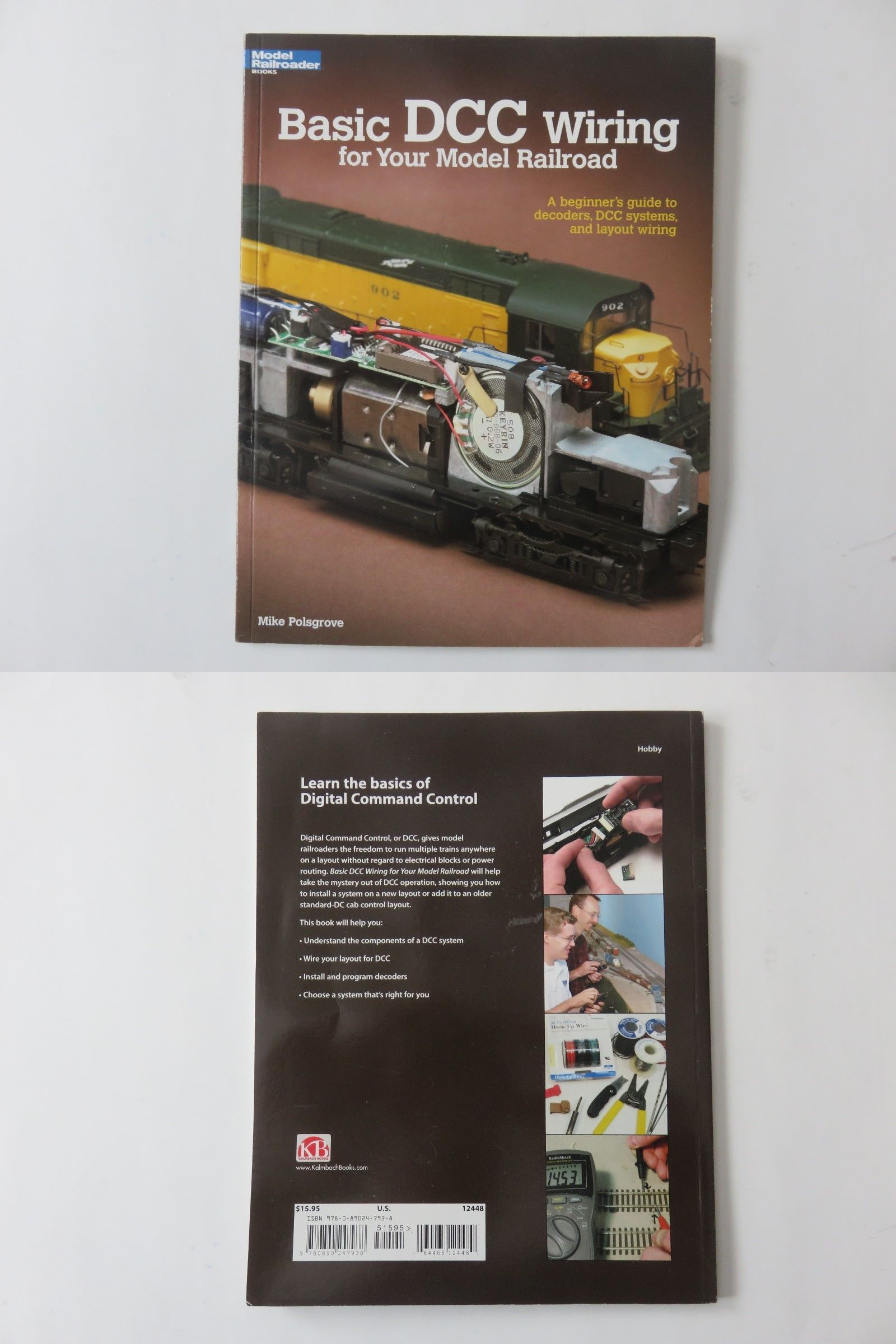 other model train media 9051 model railroader basic dcc wiring book buy it now only 14 on ebay other model train media railroader basic wiring [ 1600 x 2400 Pixel ]