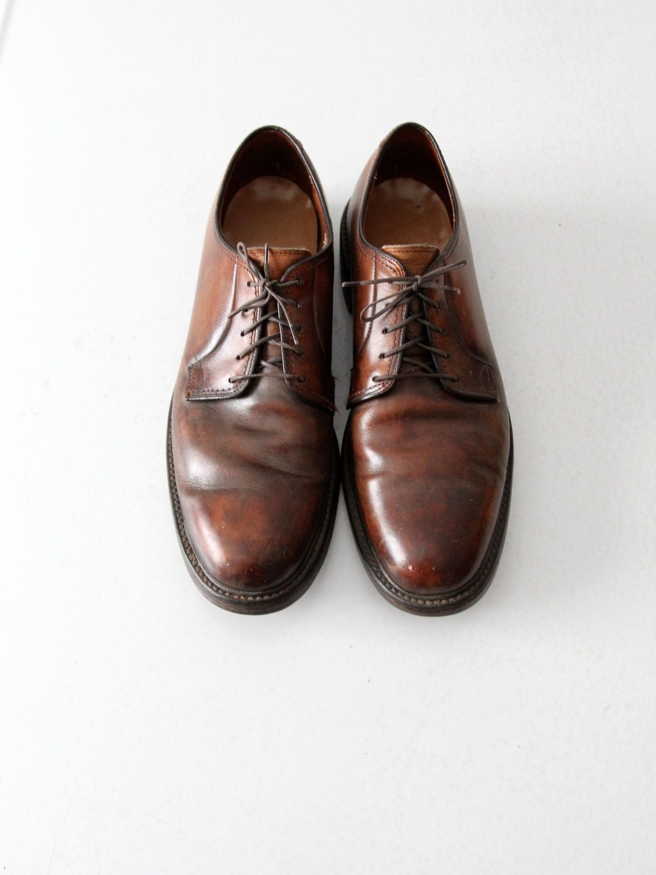 bieten viel süß moderner Stil vintage Lloyd and Haig leather oxford shoes, men's size 10.5 ...