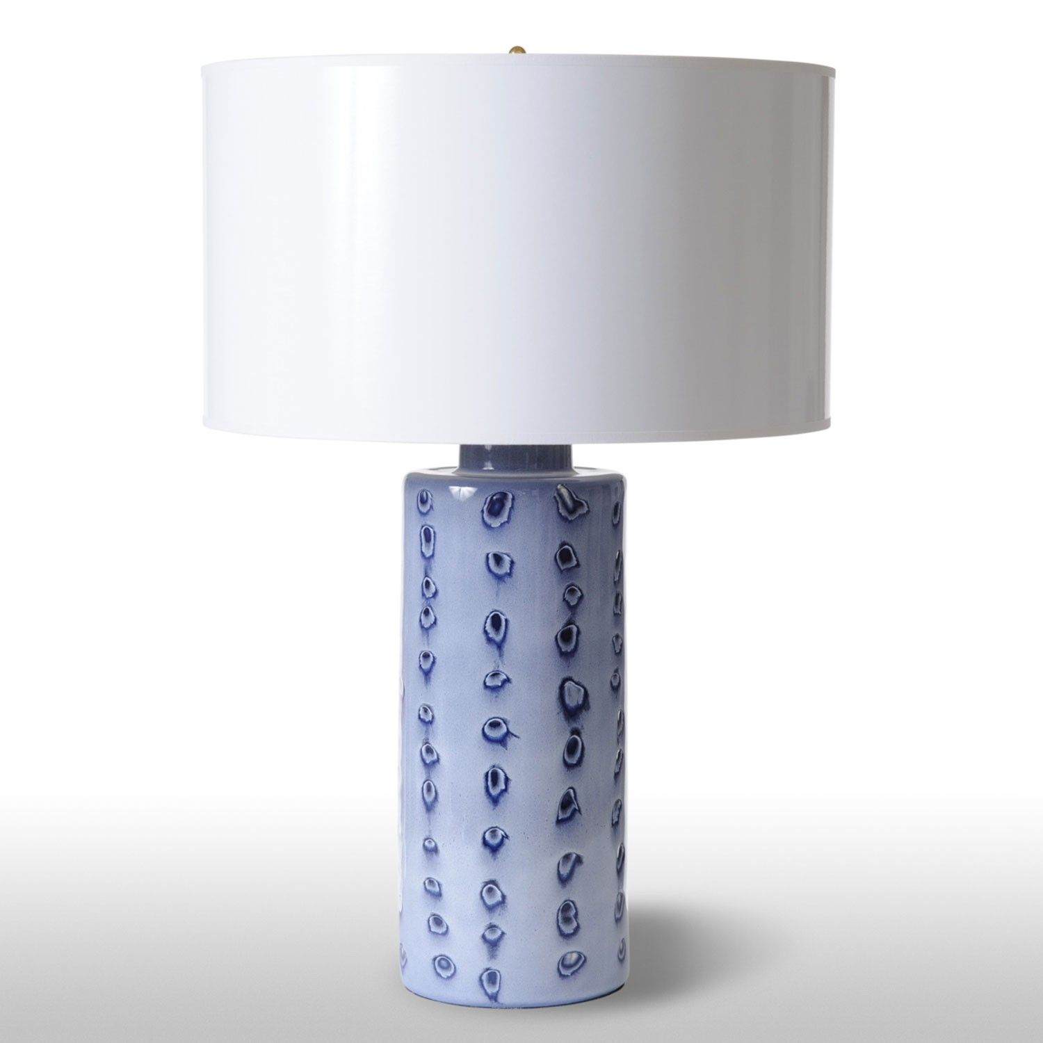 Spots Blue Lamp Ceramic Barbara Cosgrove Bc2178 Lamp Blue