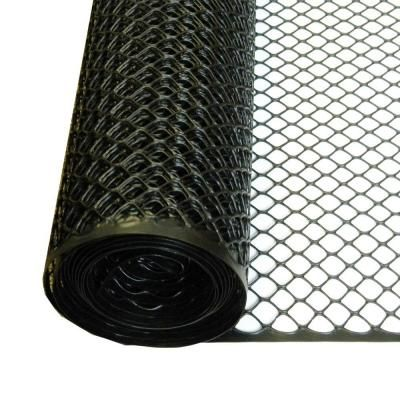 Tenax 3 Ft X 25 Ft Black Poultry Hex Fence 72120546 Puppy