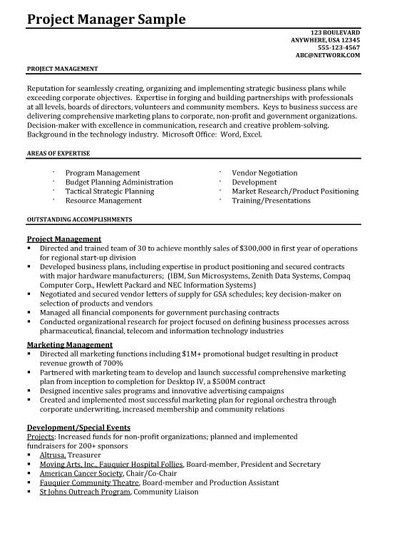 Junior Project Manager Resume -   getresumetemplateinfo/3822