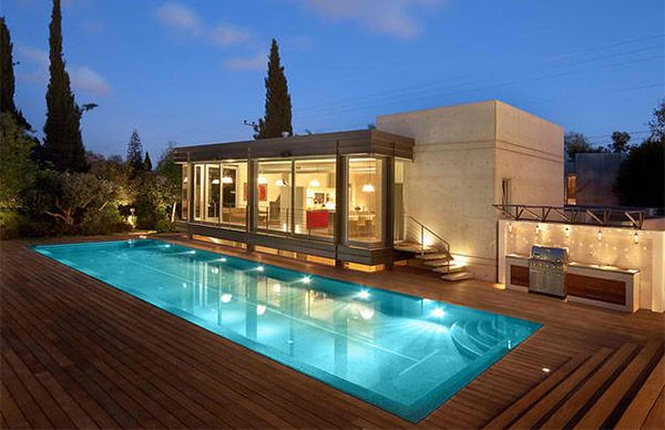 Awesome 20 Stunning Outdoor Home Swimming Pools Mesmerizing - House-swimming-pool-design