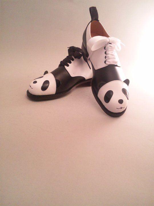 Scotch Grain Panda shoes