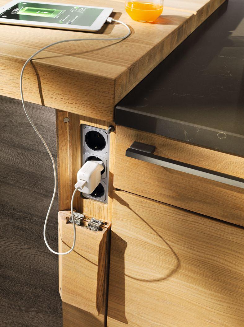 linee Eiche Steckdosen | Furniture-Chairs | Pinterest | Kitchens ...