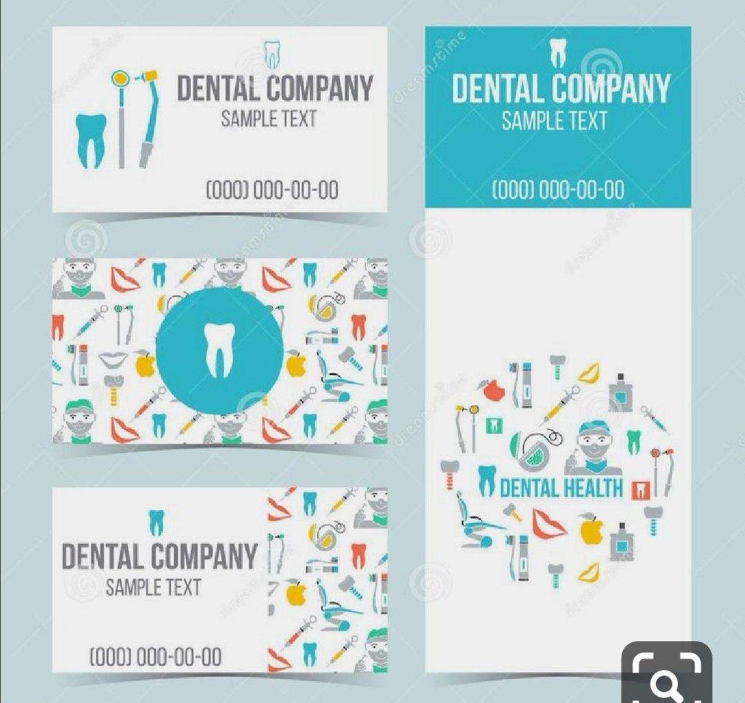 Dental card card dental saludbucalfolletos in 2020